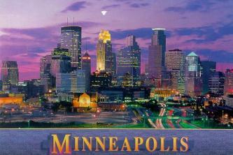 Baignade naturelle à Minneapolis (Etats-Unis)
